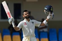 Virat Kohli Does a Kabali in West Indies