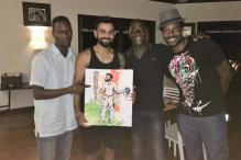 Viv Richards' Son Captures Virat Kohli's Knock in Painting