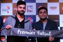Virat Kohli Spices Up Premier Futsal Anthem Composed by AR Rahman