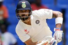 1st Test: Virat Kohli's Ton Puts India in Command on Day 1