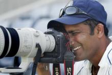 Anil Kumble the Photographer At Large in West Indies