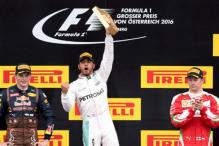 Hamilton Wins Austrian GP After Last-Lap Crash With Rosberg