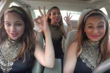 3 Girls Danced Inside A Car to Madhuri Dixit's Songs And They Are Astounding