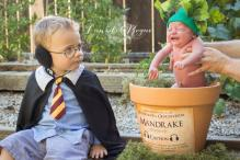 This Harry Potter-Themed Mandrake Image Of A Newborn Is Winning Everybody's Heart