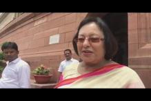 Resigned Due to Personal Reasons: Najma Heptulla