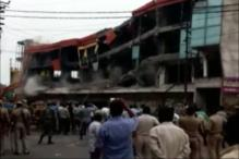 Four People Dead  in Building Demolition in Meerut