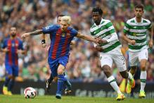 Lionel Messi Quiet but Barcelona Stroll Past Celtic