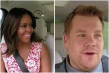Michelle Obama Joins James Corden For Carpool Karaoke At The White House