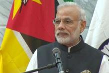 PM Narendra Modi Visits Innovation Centre in Mozambique
