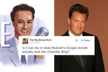 Everyone Thinks Google's Doodle for Mukesh Looks Like Chandler Bing