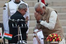 Pranab Da Held My Finger and Guided Me Like a Guardian: Narendra Modi