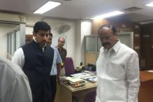 Venkaiah Naidu Catches Latecomers Off-guard, Surprise Check at I&B Ministry