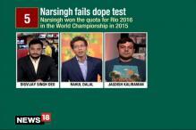 Wrestler Narsingh Yadav In Doping Net