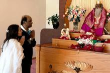 Rajinikanth's Daughter Releases Photos Of Star Praying At US Shrine