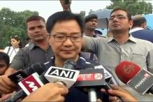 Govt Not in Favour of Abolishing Death Penalty: Kiren Rijiju
