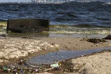 Helicopters and GPS to Spot Floating Trash at Rio Olympics