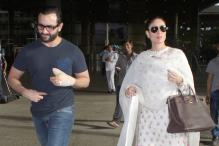 Snapshot: Kareena Kapoor Khan Flaunts Her Baby Bump In A White Ensemble