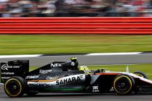 Force India's Perez Finishes 8th in Singapore GP