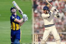 Glamorgan Batsman Aneurin Donald Equals Ravi Shastri's Record