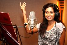 Shreya Ghoshal Records First Song for 'Padmavati'