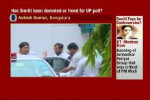 Watch: Smriti Irani Demoted or Freed For UP Elections?