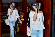 Sonakshi Sinha Plays Hide-And-Seek with Paparazzi