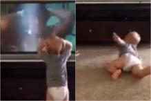 Toddler Mimics Sylvester Stallone's 'Rocky' Workout, Video Goes Viral