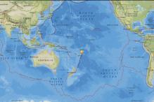 6.0-Magnitude Quake Hits Off Tonga: USGS