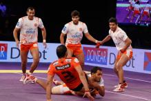 Anup Powers Mumbai to Win Over Pune in Pro Kabaddi League
