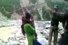 Disaster Relief Teams Rescue People Stranded on Gangotri-Gomukh Trekking Trail
