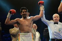 Emotional Vijender Singh Dedicates Title Win to Muhammad Ali