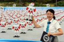 Over 1,000 Dancing Robots set Guinness Record in China