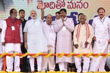 PM Modi in Hyderabad: 'Shoot Me', But Stop Attacking Dalits