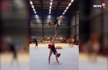 These Girls Performing Acrobatic Tower Will Leave You Amazed