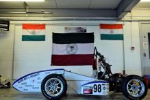 Racing Car Created by AMU Students Turns Heads at London Event