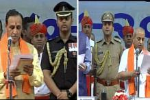Vijay Rupani Sworn in as Gujarat Chief Minister; Nitin Patel Becomes Deputy