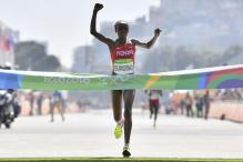 Rio 2016: Kenya's Sumgong Wins Women's Marathon