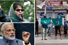 Mehbooba Mufti Meets PM Modi to Discuss Unrest, Killings in Kashmir