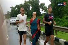 Milind Soman's 76-Year-Old Mom is Running a Barefoot Marathon with Her Son