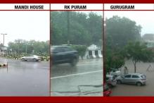 Delhi, NCR Comes to Standstill as Rains Play Havoc