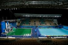 Rio 2016 : Green, Not Blue, The Color Of Swimming Pool At Olympics