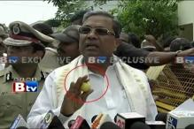 Lemon in Right Hand, Karnataka CM Siddaramaiah Tours Mysore