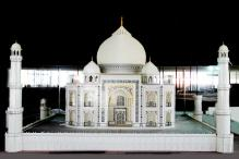 This Taj Mahal Lego Model Took Over 2,000 Hours To Build And Its Stunning