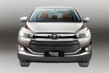 Toyota Launches Innova Crysta Petrol; Prices Start At Rs 13.72 lakhs