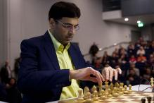 Viswanathan Anand Remains Joint Second in Sinquefiled Cup