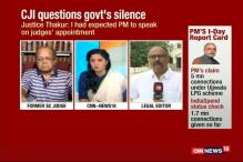 Chief Justice Of India Questions Government's Silence