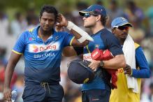 Australia Pacer Scott Boland Bouncer Breaks Sri Lanka's Angelo Mathews Helmet
