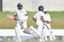 3rd Test: Ashwin, Saha Blunt West Indies Advantage on Day 1