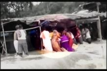 Watch: Woman Pilgrim Drowns in Bhairavi River, Rescued by Locals