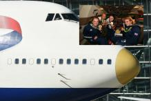 Rio 2016: Team Great Britain Returns Home On Board Gold-Nosed 'victoRious' Aircraft